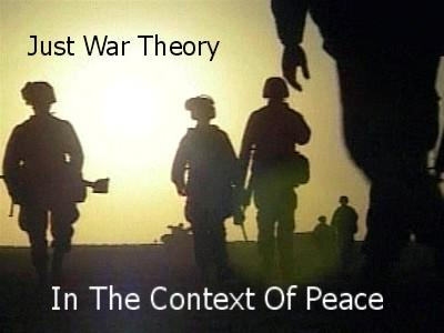Peace and war are at the opposite side?